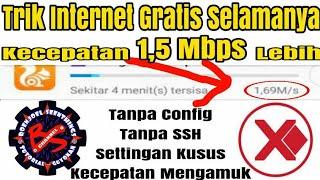Video Trik Internet Gratis Tanpa Config/Payload - Kecepatan Menggila Bisa Mencapai 1,5 Mbps Lebih... download MP3, 3GP, MP4, WEBM, AVI, FLV Oktober 2018