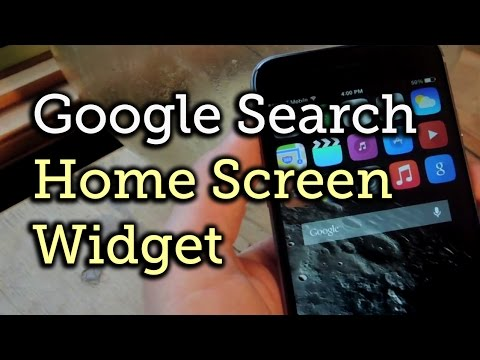 Add A Google Search Bar Widget To Your IPhone's Home Screen [How-To]