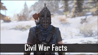 Skyrim: 5 Civil War Facts and Secrets That You May Have Missed - The Elder Scrolls 5 Secrets -Part 3