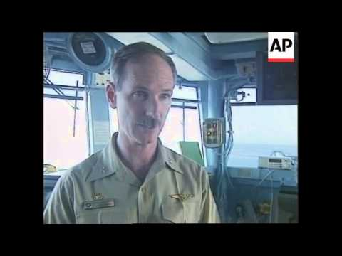 ADRIATIC SEA: ON BOARD USS INCHON