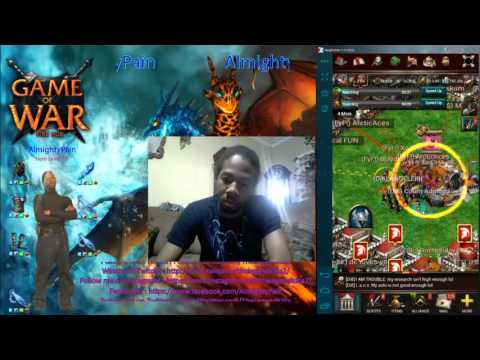 Game Of War Ep 222 Day 3 Fighting StayAlive & His 5 Alliance For His Wonder