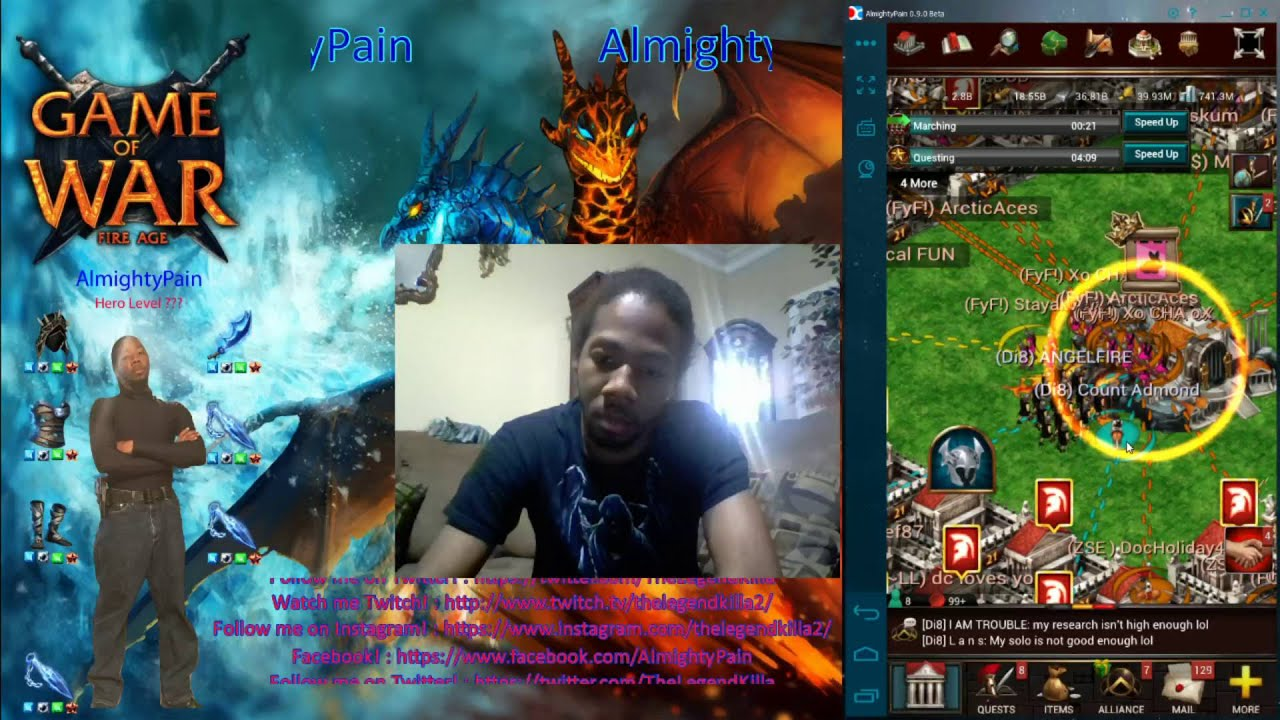 Download Game Of War Ep 222 Day 3 Fighting StayAlive & His 5 Alliance For His Wonder