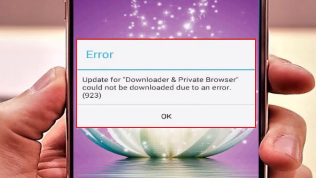 Fix google play store error 923 while downloading app fixerrorcode.