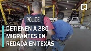 Detienen a 280 indocumentados durante redada en empresa de Texas - Las Noticias