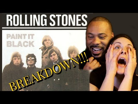 ROLLING STONES Paint It Black Reaction!! Major disagreement 🤫