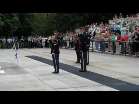 Wreath  Laying Ceremony for Col  David Hackworth Arlington National Cemetery Cemetery