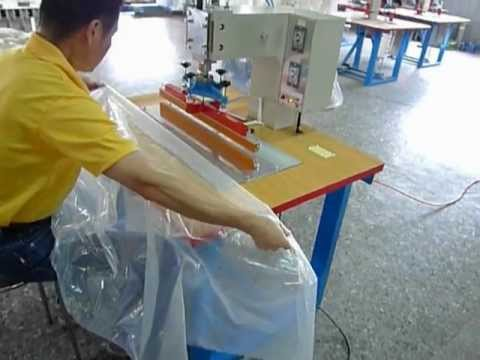 Impulse Welding Machine For Pe Film Of Greenhouse Youtube