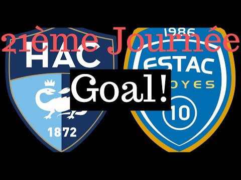 Le Havre Troyes Goals And Highlights