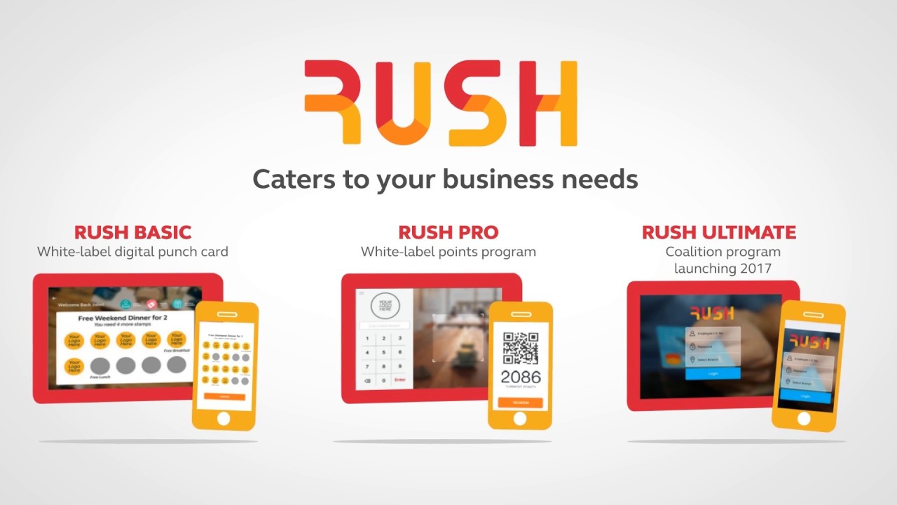 RUSH: Custom brand your Loyalty App! - YouTube