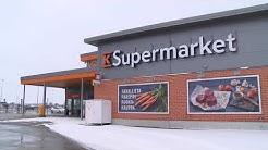 Teräsrunkorakenteet, yläpohjan kantava profiilipelti, K-Supermarket Ilmajoki