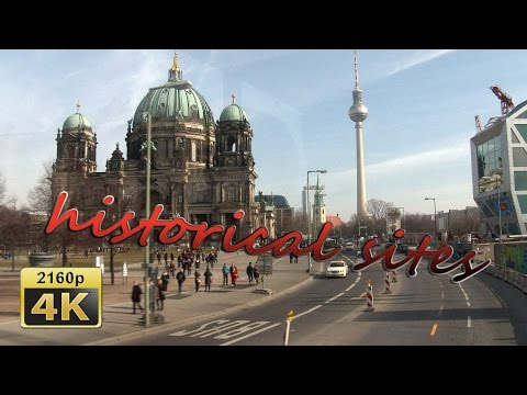 from Zoologischer Garten to Alexanderplatz by Bus, Berlin - Germany 4K Travel Channel