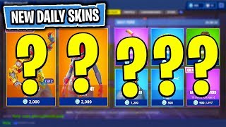 The NEW Daily Skin Items In Fortnite: Battle Royale! (Skin Reset #16)