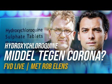 Een geneesmiddel tegen Corona? Hydroxychloroquine? - FVD Journaal #22 LIVE