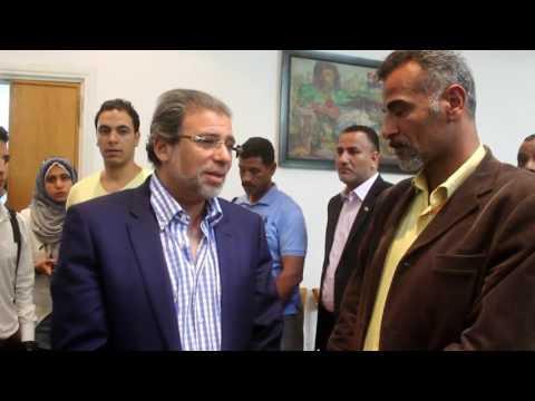 المخرج خالد يوسف فى تابين كابتن غزالى اسمع ماذا يقول