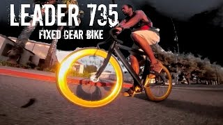 Leader 735 Fixed Gear Bike Ride