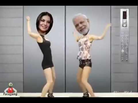 Narendra modi funny dance video