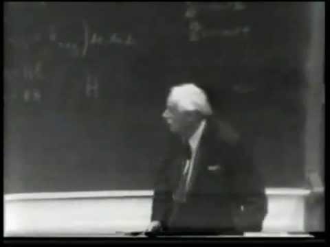 Dirac Lecture 2 (of 4) - Quantum Electrodynamics (clean audio)