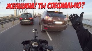 МотоБудни №3 Ситуации на дороге. ДПС , Ворчливый байкер