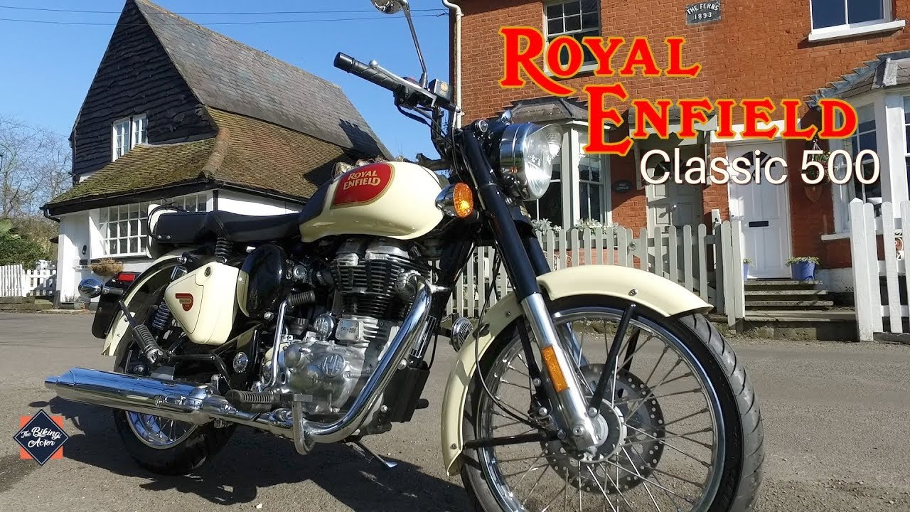 Royal Enfield Classic 500 Cream  - Test Ride Review