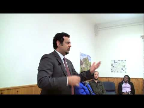 MigHelp » Dr. Shahrokh Mirza Hosseini Speaks about Life as an Immigrant (12.2012)
