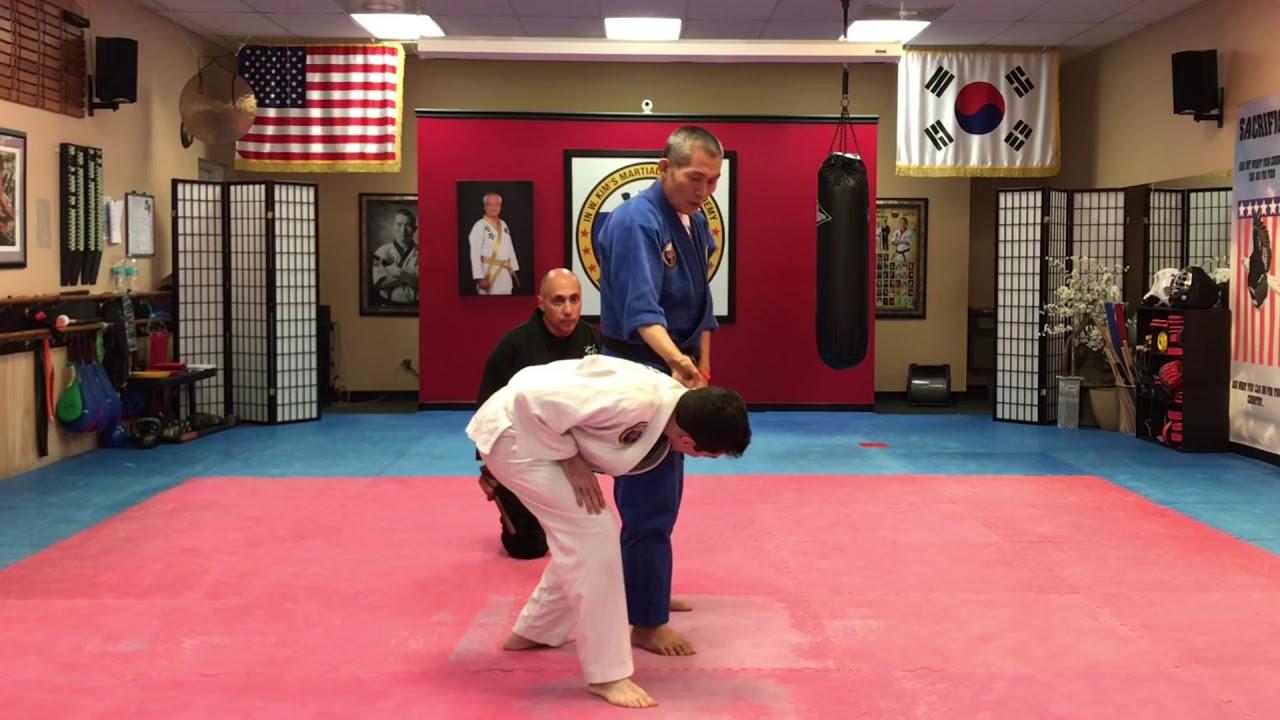 Hapkido Dahnbong techniques – aikido