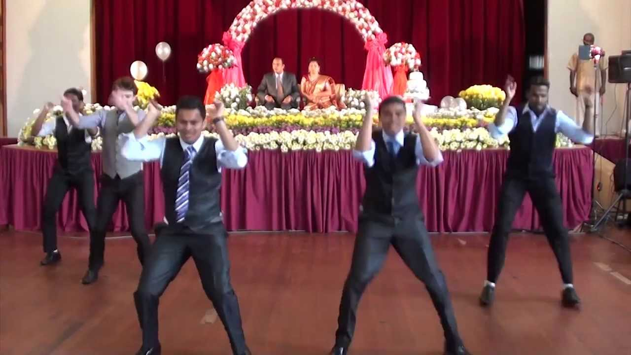 Surprise Indian Wedding Anniversary dance with white guy - YouTube