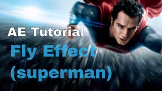 After Effects Tutorial- How to make Thor Fly Effect