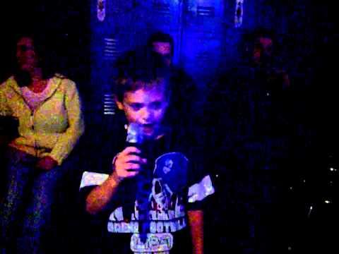 joey singing karaoke cats in the cradle
