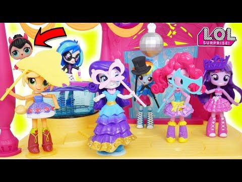 Surprise My Little Pony Dance L.O.L. Surprise! Dolls Baby Babysit Wrong Lil Sisters Vending Unboxed!