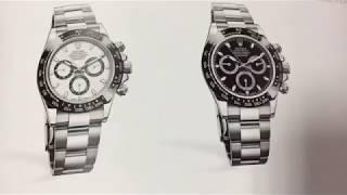 高級腕時計 ローレックス ROLEX カタログ 2018〜2019 パート2
