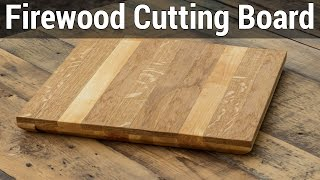 Howto#4 Making A Cutting Board From Firewood | Как сделать разделочную доску из дров