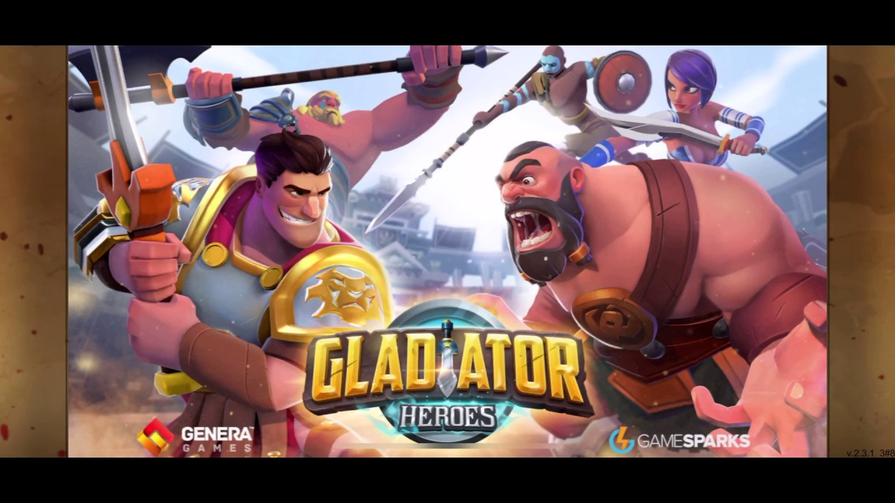 Gladiator Heroes: Clan War Games  full download APK obb  + App Iphone Full game [ Game TDM ]  #Smartphone #Android