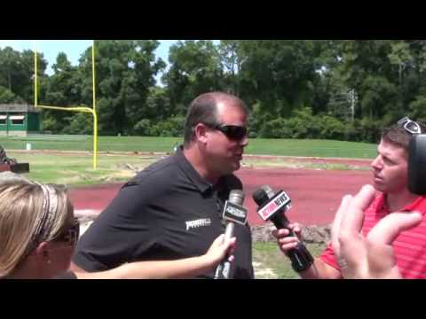Kerwin Bell discusses renovation to D.B. Milne Field