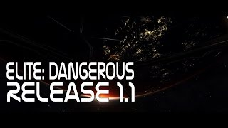 Elite: Dangerous - Release Beta 1.1 - Looking at New Routing, City Lights, Gas Giants