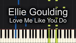 🙌SING ALONG!! 🙌Love Me Like You Do Ellie Goulding Piano Cover! - Sheet Music Available!!