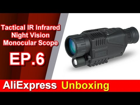 AliExpress Unboxing EP.6 Tactical IR Infrared Night Vision Monocular Scope DVR