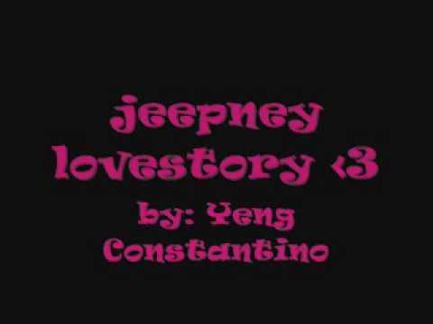jeepney lovestory    yeng constantino