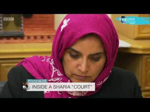 "Inside a Sharia ""Court"" &  Baroness Cox, Khola Hasan and Rani Bilkhu talk with Victoria Derbyshire"