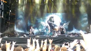 Powerwolf- live Wacken 2015 (Armata Strigoi)