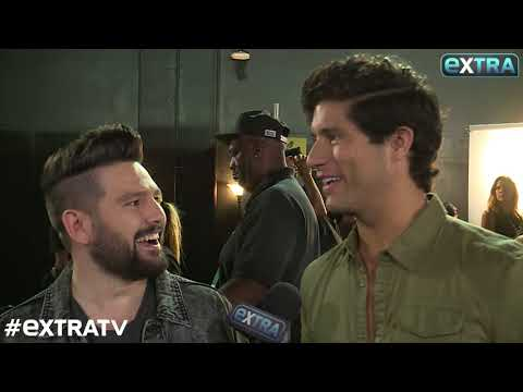 Dan + Shay on Their CMT Awards Win… and Kissing Blake Shelton!