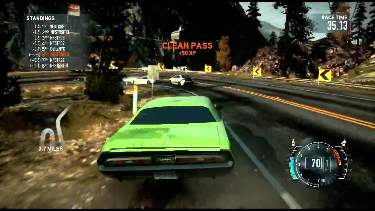 Need for Speed The Run - Muscle Car Multiplayer Gameplay ...
