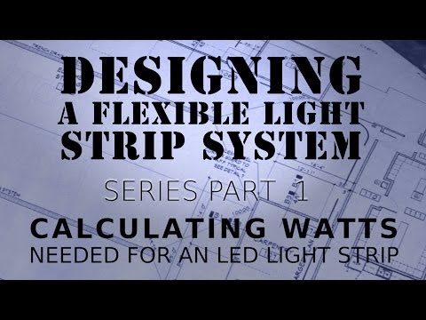 How To Calculate Watts With LED Light Strips