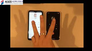 실리콘밸리한미봉사회: How to Use KakaoTalk Audio Call:Video Call | Smartphone Class screenshot 3