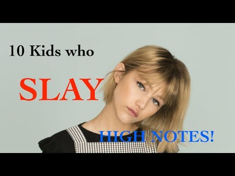 10 KIDS who S L A Y High Notes!