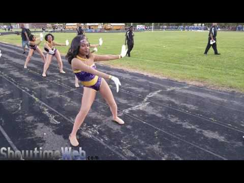 Bands Marching In - 2017 Belaire High Wavefest BOTB