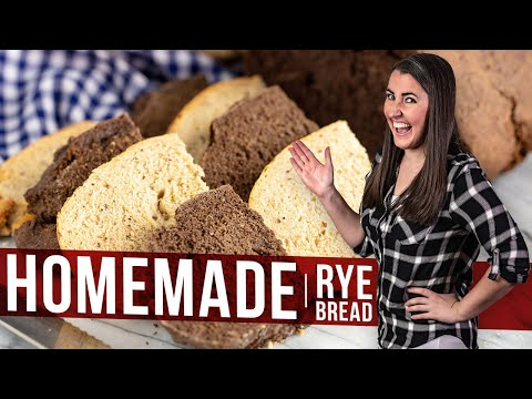 How To Make Homemade Rye Bread