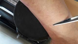 トギラーク 鋏のバフ研磨