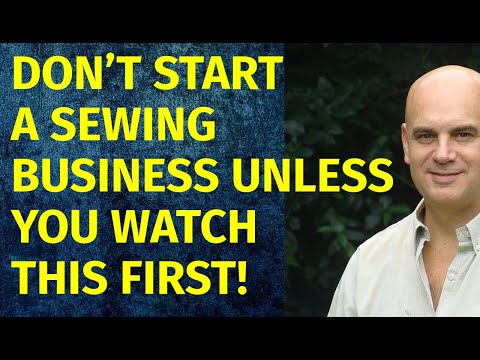 How to Start a Sewing Business | Including Free Sewing Business Plan Template