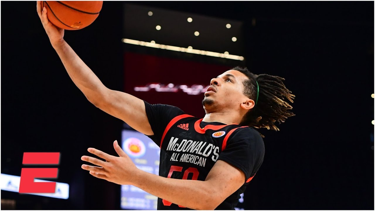 8dea071bd Cole Anthony shines in star-studded McDonald s All-American Game ...
