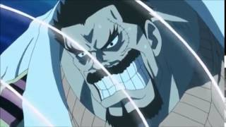 One Piece Garp vs Chinjao the drill EPIC